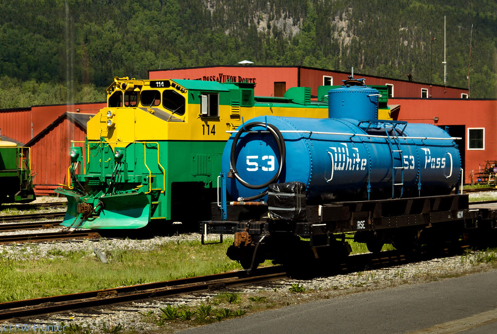 Railroad Yard, White Pass RR.